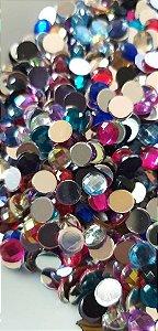 Chaton mix de cores 6mm c/ 30 unidades