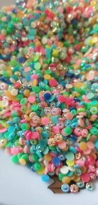 Margarida mix de cores 3mm c/ 150 unidades
