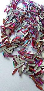 Gota palito rosa ab 3x10 - 30 pcs