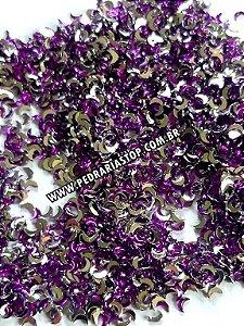 Lua para decoração roxa 2x3 - Aprox. 100 unidades