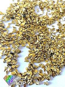 Gotinha dourado ouro 2mm - Aprox. 100 pcs