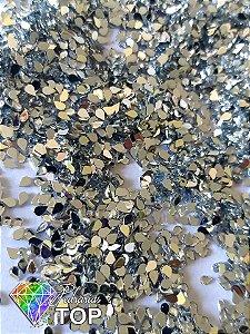 Gotinha cristal 2mm - Aprox. 100 pcs