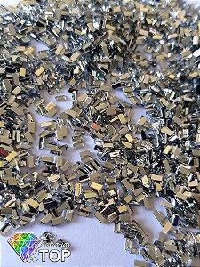 Retângulo cristal 2.3 mm - Aprox. 100 pcs