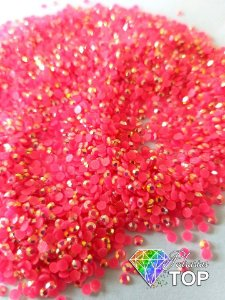 Strass nude rosa choque 1.8mm - Aprox. 500 pcs