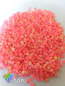 Margarida rosa 3mm - Aprox. 150 pcs