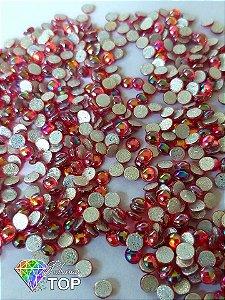 Chaton vermelho furta cor 4mm - Aprox. 50 pcs