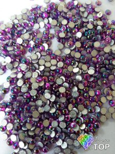 Chaton roxo furta cor 4mm - Aprox. 50 pcs