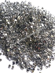 Pedra da lua cristal 2mm - Aprox. 200 pcs