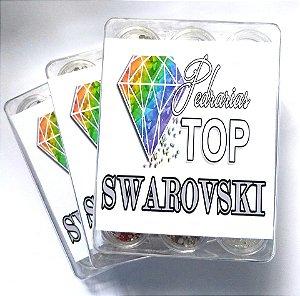 SWAROVSKI MIX CORES E TAMANHOS + CAVIAR