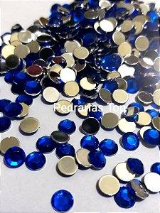 Chaton sextavado azul 6mm - Aprox. 40 pcs