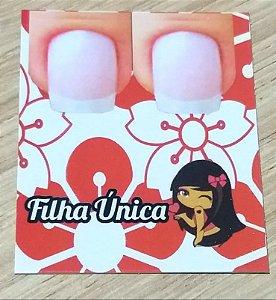 Cartão Filha Unica  c/  100 unidades Ref. 108 - Dispensa uso pasta L