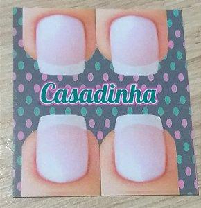 Cartão Casadinha  c/  100 unidades Ref.  112 - Dispensa uso pasta L