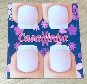 Cartão Casadinha  c/  100 unidades Ref. 115  - Dispensa uso pasta L