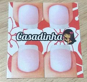 Cartão Casadinha  c/  100 unidades Ref. 118  - Dispensa uso pasta L
