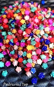 Rosa 3d mix de cores c/ 30 pçs