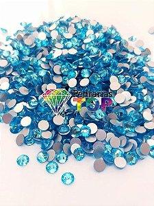 Cristal swarovski azul claro 5mm - 30 pçs