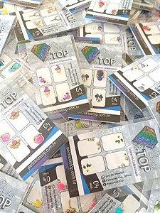 PROMOÇÃO LIQUIDAÇÃO - Kit jóias para unha C/ 100 CARTELAS