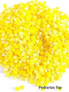 Margarida amarela ab 3mm - Aprox. 200 pçs