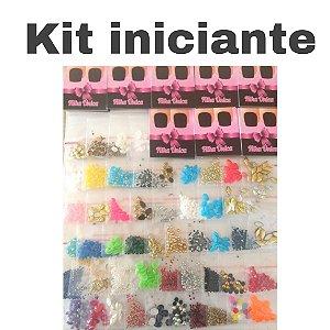 Kit iniciante - 50 saquinhos pedrarias + 50 cartões