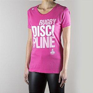 Camiseta Rugby DISCIPLINE Feminina