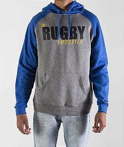 Moletom Rugby MAUL LIFE Blue by ALMA Rugby