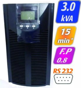 Nobreak G4 Online por Dupla Conversão 3kVA/2,4kW Sem Bateria Interna