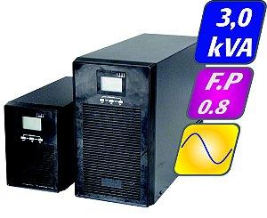 Nobreak Senoidal Puro Ups 3kva 2,4kw 220/120v Aut 10 Minutos