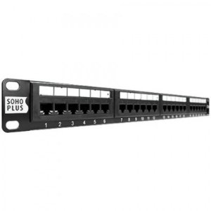Patch Panel Sohoplus CAT.6 T568A/B 24P - RoHS - Furukawa