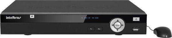 Gravador NVR Stand Alone 08 Canais NVD 1008 P POE Intelbras