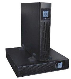 "Nobreak G4 Interativo Senoidal Puro 3kVA 2,4kW Rack 19"" E/S: 220Vca Bateria Interna de 9Ah"