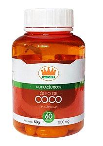 Óleo de Coco 1000mg c/ 60 Cápsulas - RF