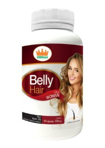 Belly Hair 500mg c/ 60 Cápsulas - RF
