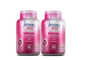 Emagrecedor Slimway 900 180 Cápsulas - Perca até 8 kg no 1º Mês