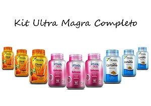 Kit Emagrecedor Ultra Magra Tratamento Completo® 630 Cápsulas