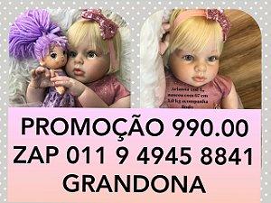 Menina loira de 1 ano compre  somente no zap 011 9 4945 8841