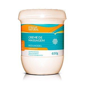 Creme Redumodel Para Massagem Com Oligovita - D'agua Natural