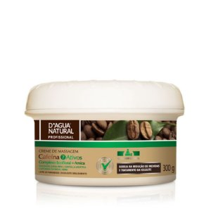 D'Água Natural Creme de Massagem Corporal Ecofloral 7 Ativos