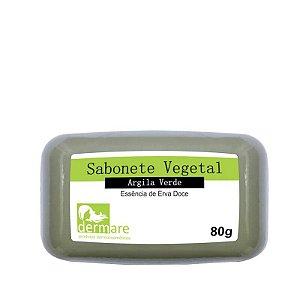 Sabonete Vegetal de Argila Verde Dermare - 80g