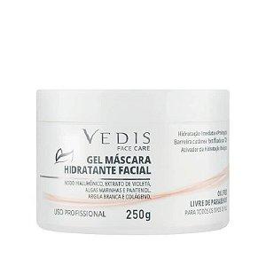 Gel Máscara Hidratante Facial (Ácido Hialurônico) Vedis - 250g