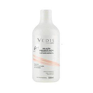 Solução Emoliente Facial Trietanolamina 8% 500ml - Vedis