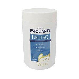 Creme Esfoliante Corporal Neutro 1Kg - Vedis