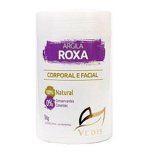 Argila Roxa Facial e Corporal Vedis 1kg