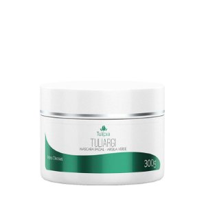 Máscara Argila Verde Facial Tuliargi Tulípia - 300g