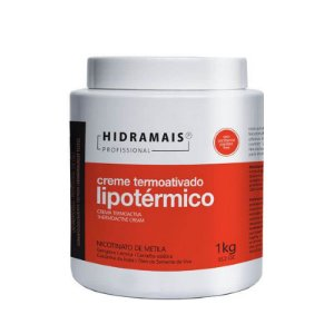 Creme Termoativado Lipotérmico Hidramais Nicotinato de Metila 1Kg