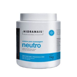 Creme para Massagem Neutro Hipoalergênico Hidramais 1kg