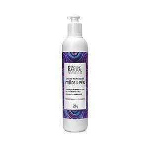 Creme Hidratante Home Care Mãos e Pés D'Água Natural - 230g