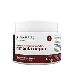 Creme de Massagem Modeladora Pimenta Negra Hidramais 500g