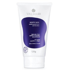 Peeling Químico Valmari Com Ácidos 120g White Skin