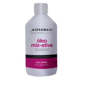 Óleo Mix-active Para Massagem Hidramais 500ml