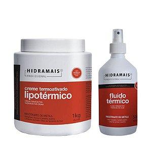 Kit Lipo térmico Massagem Redução De Medidas Com 2 Itens Hidramais